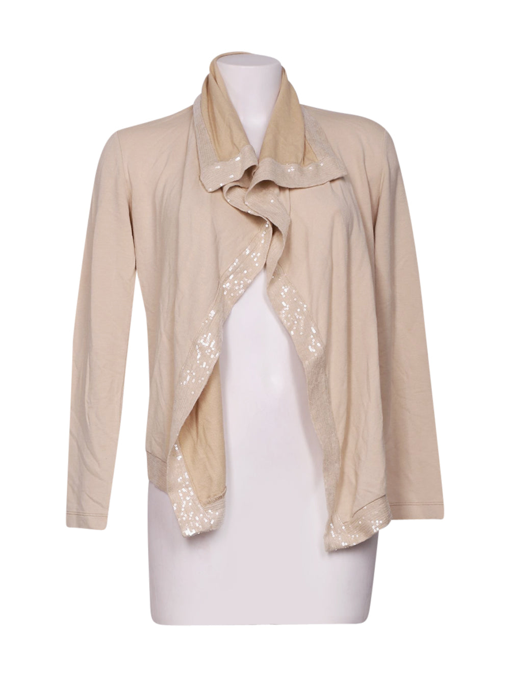 Front photo of Preloved Deha Beige Woman's bolero - size 6/XS