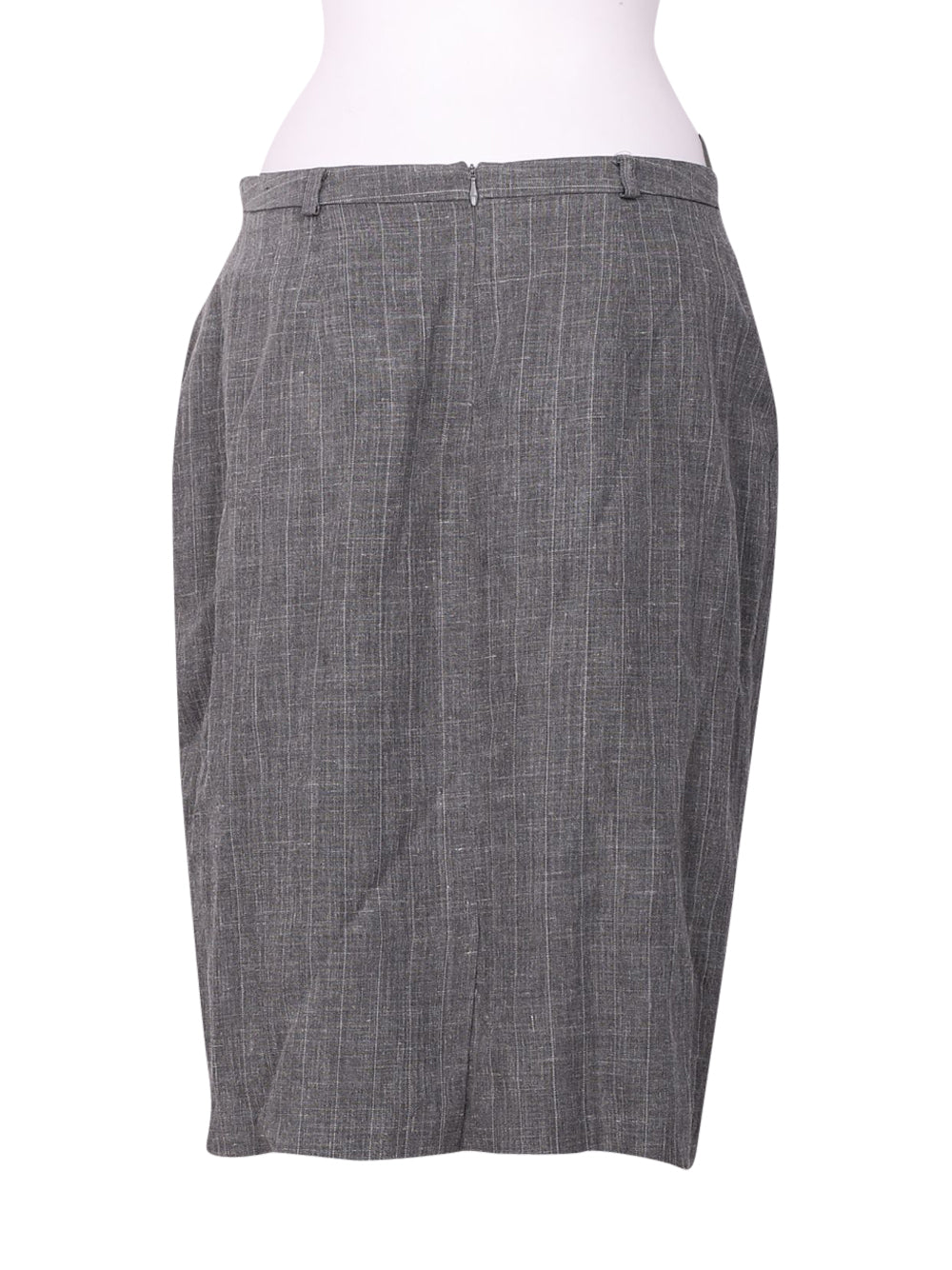 Back photo of Preloved Max Mara Grey Woman's skirt - size 16/XXL