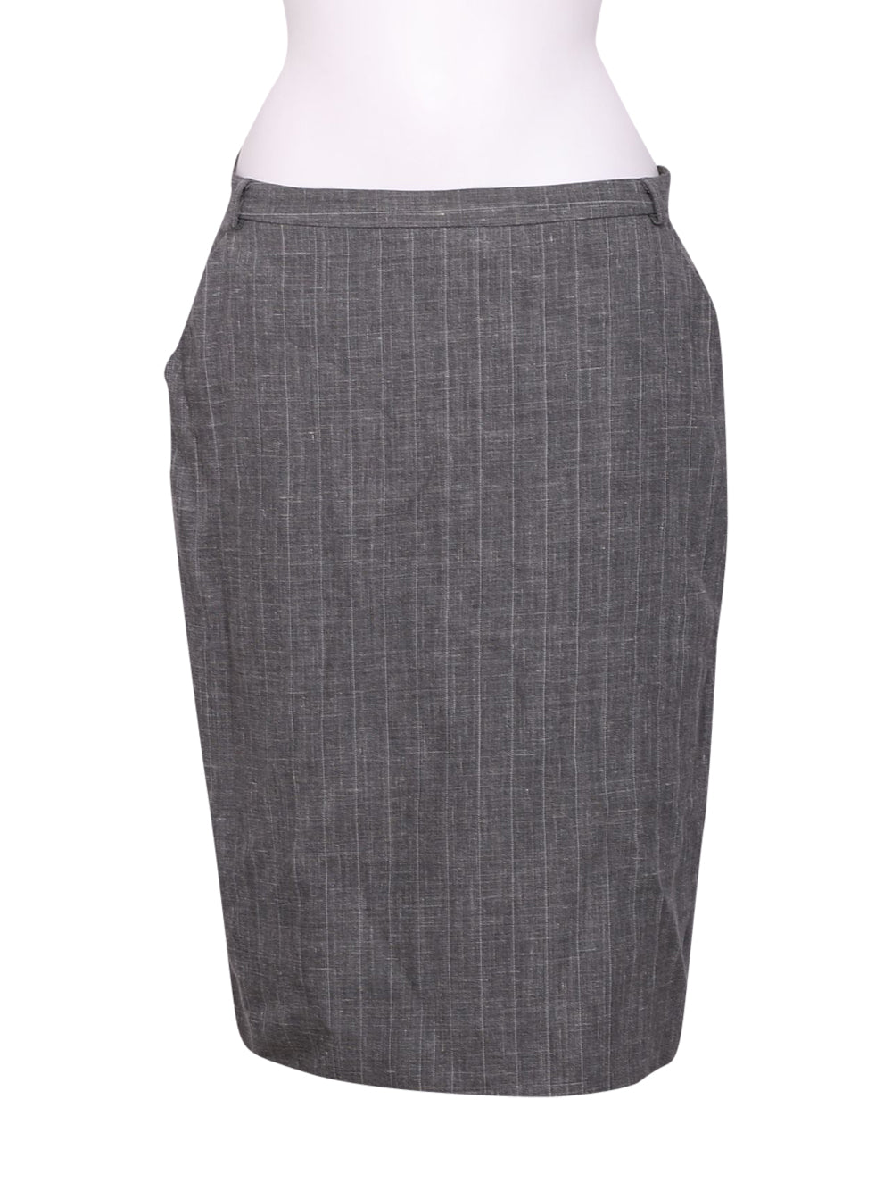 Front photo of Preloved Max Mara Grey Woman's skirt - size 16/XXL