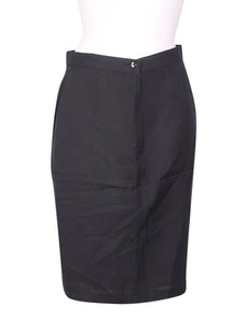 Front photo of Preloved Alba Fornari Black Woman's skirt - size 12/L