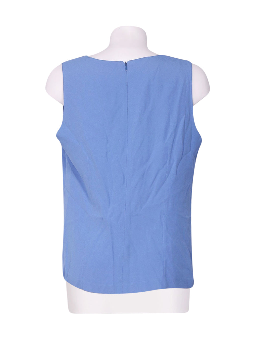 Back photo of Preloved romy Blue Woman's sleeveless top - size 16/XXL