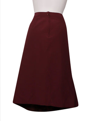 Back photo of Preloved Hennè Bordeaux Woman's skirt - size 10/M
