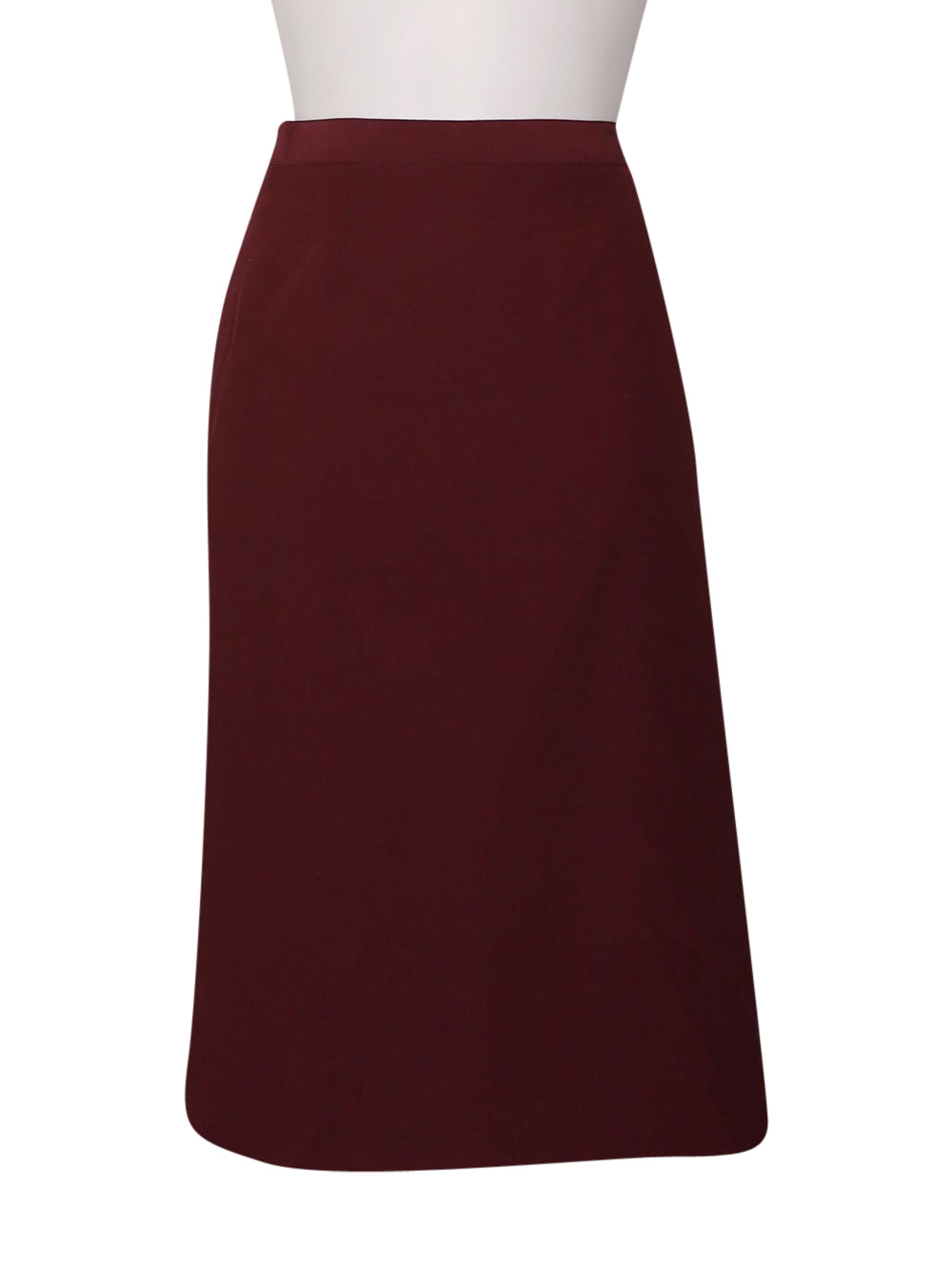 Front photo of Preloved Hennè Bordeaux Woman's skirt - size 10/M