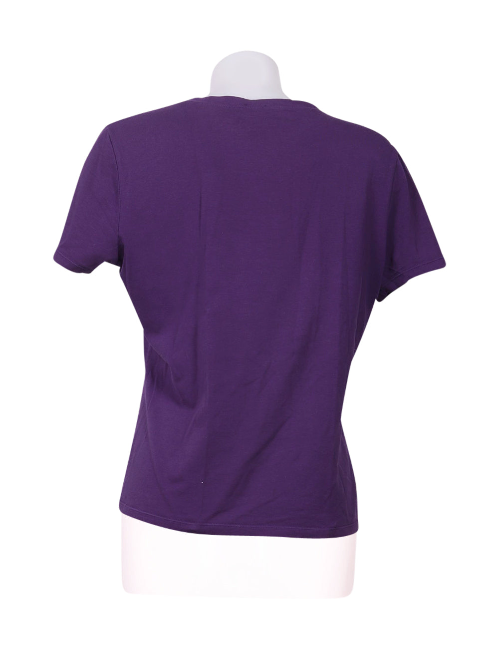 Back photo of Preloved Oltre Violet Woman's t-shirt - size 8/S