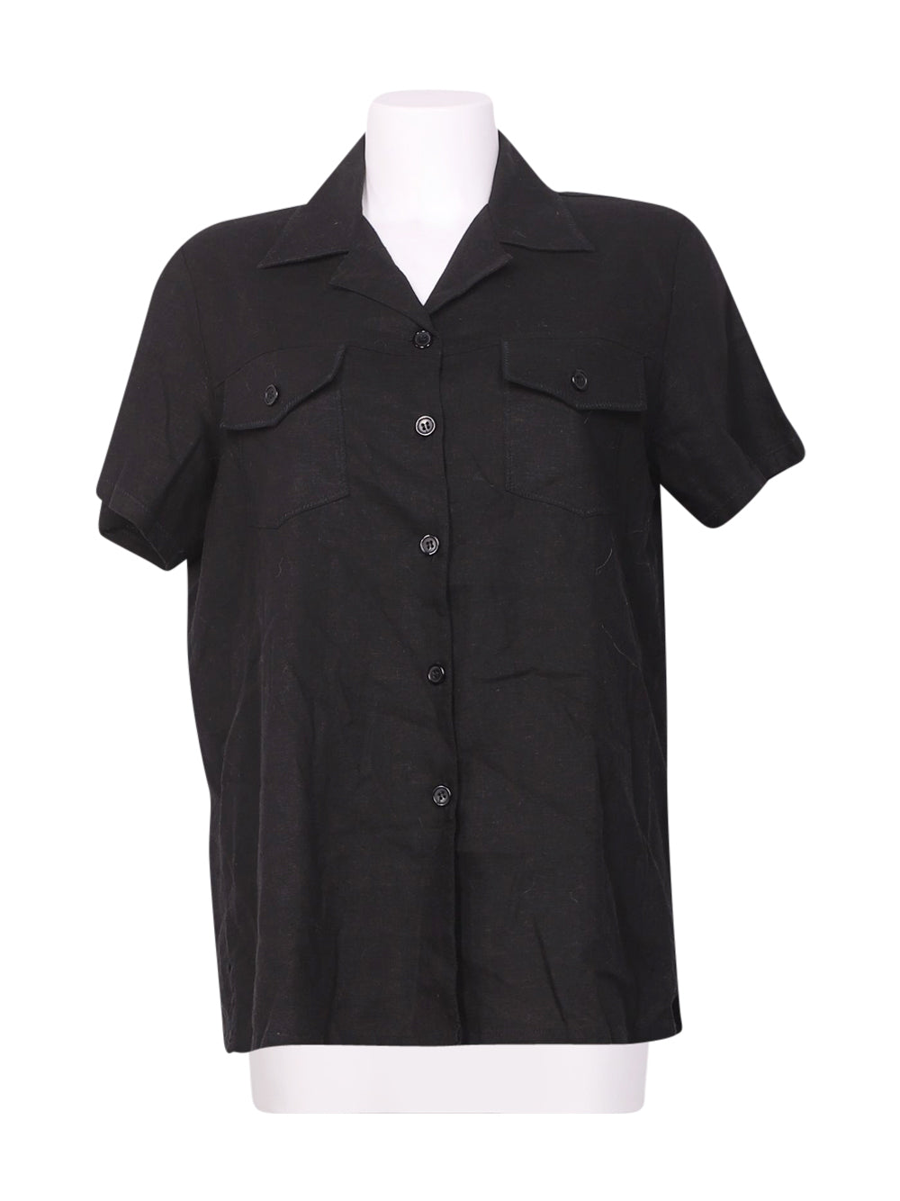 Front photo of Preloved joxy Black Woman's shirt - size 12/L