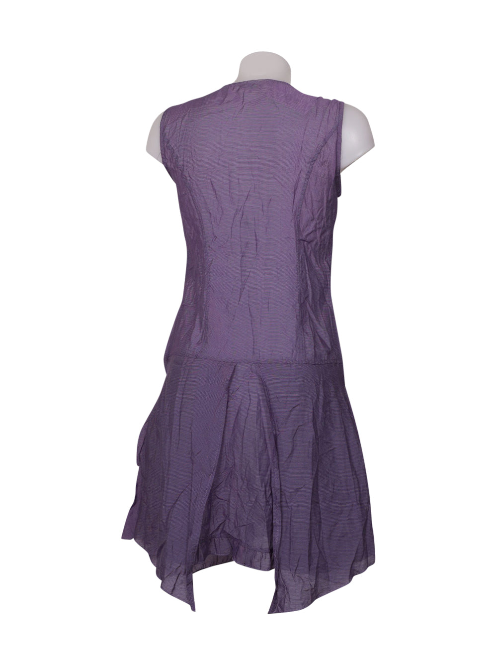 Back photo of Preloved franstyle Violet Woman's dress - size 8/S