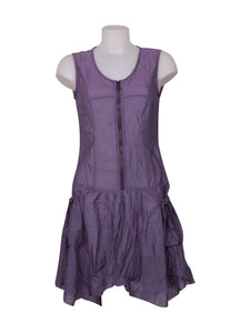 Front photo of Preloved franstyle Violet Woman's dress - size 8/S