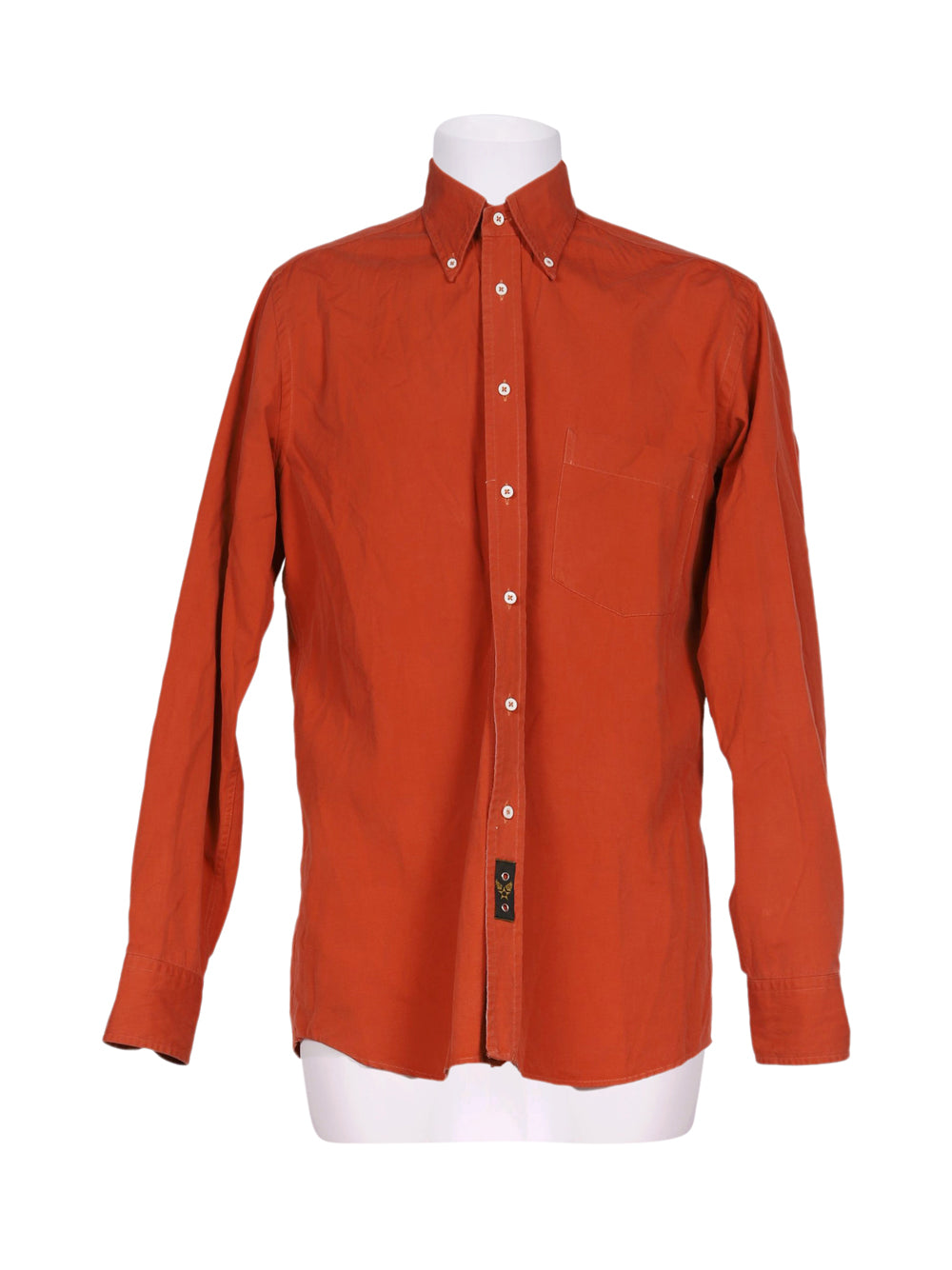 Front photo of Preloved Avirex Red Man's shirt - size 38/M