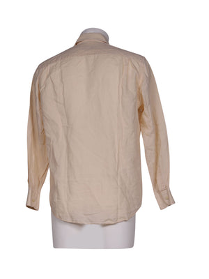 Back photo of Preloved moreal Beige Man's shirt - size 40/L
