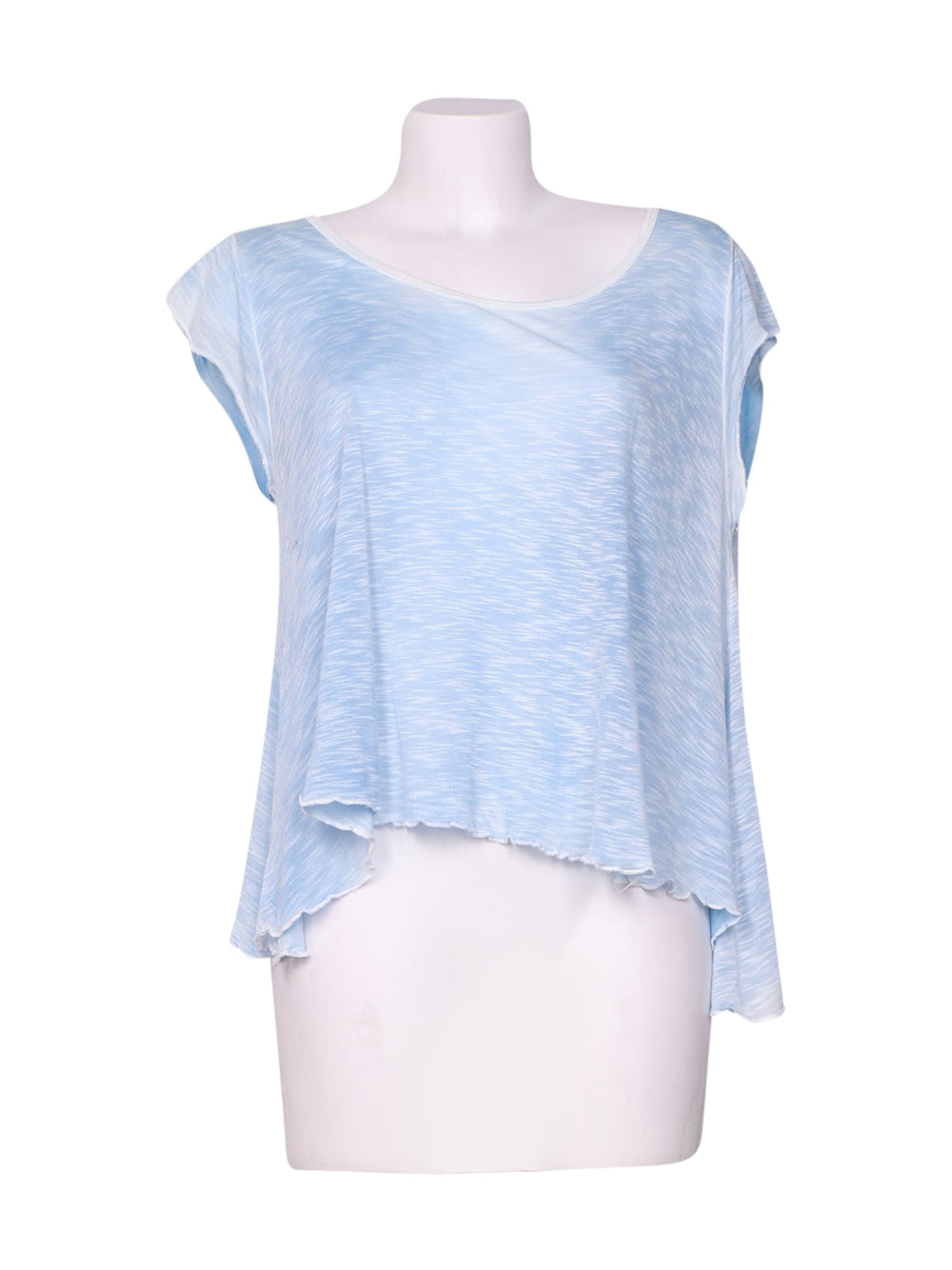 Front photo of Preloved St. Diego Light-blue Woman's sleeveless top - size 10/M
