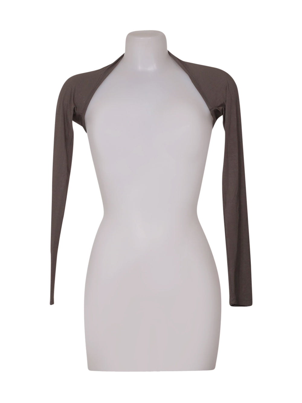 Front photo of Preloved Paolo Casalini Grey Woman's bolero - size 8/S