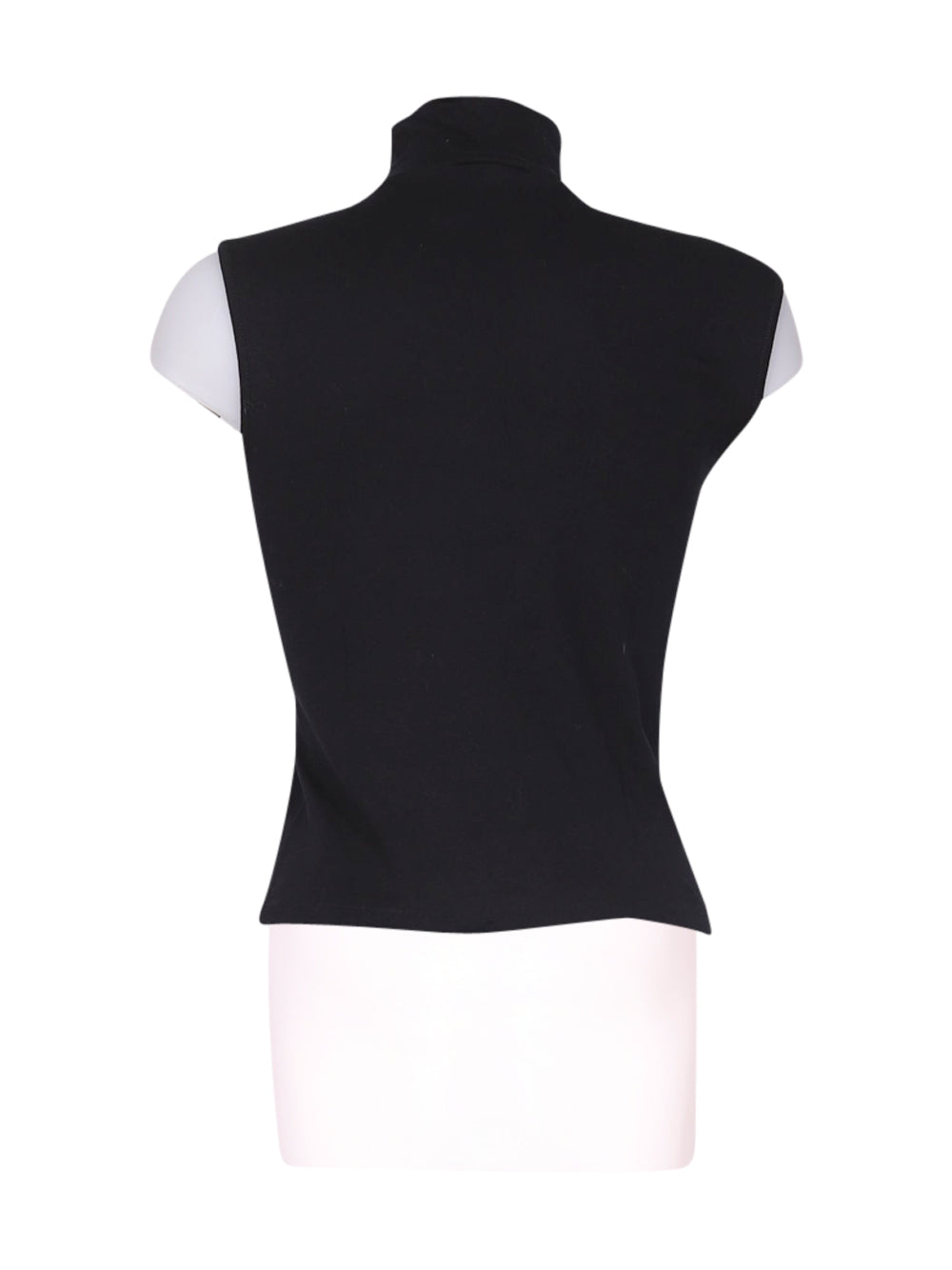 Back photo of Preloved Ragno Black Woman's sleeveless top - size 8/S