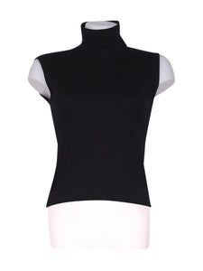 Front photo of Preloved Ragno Black Woman's sleeveless top - size 8/S
