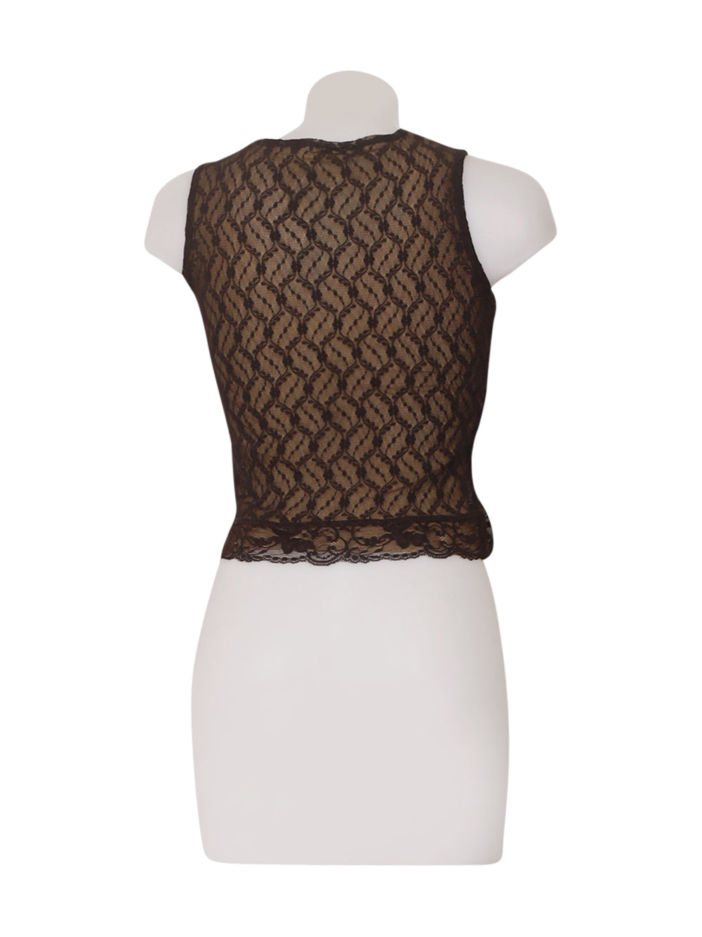 Back photo of Preloved Phard Brown Woman's sleeveless top - size 10/M