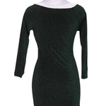 Back photo of Preloved Q2 Green Woman's dress - size 8/S