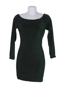 Front photo of Preloved Q2 Green Woman's dress - size 8/S