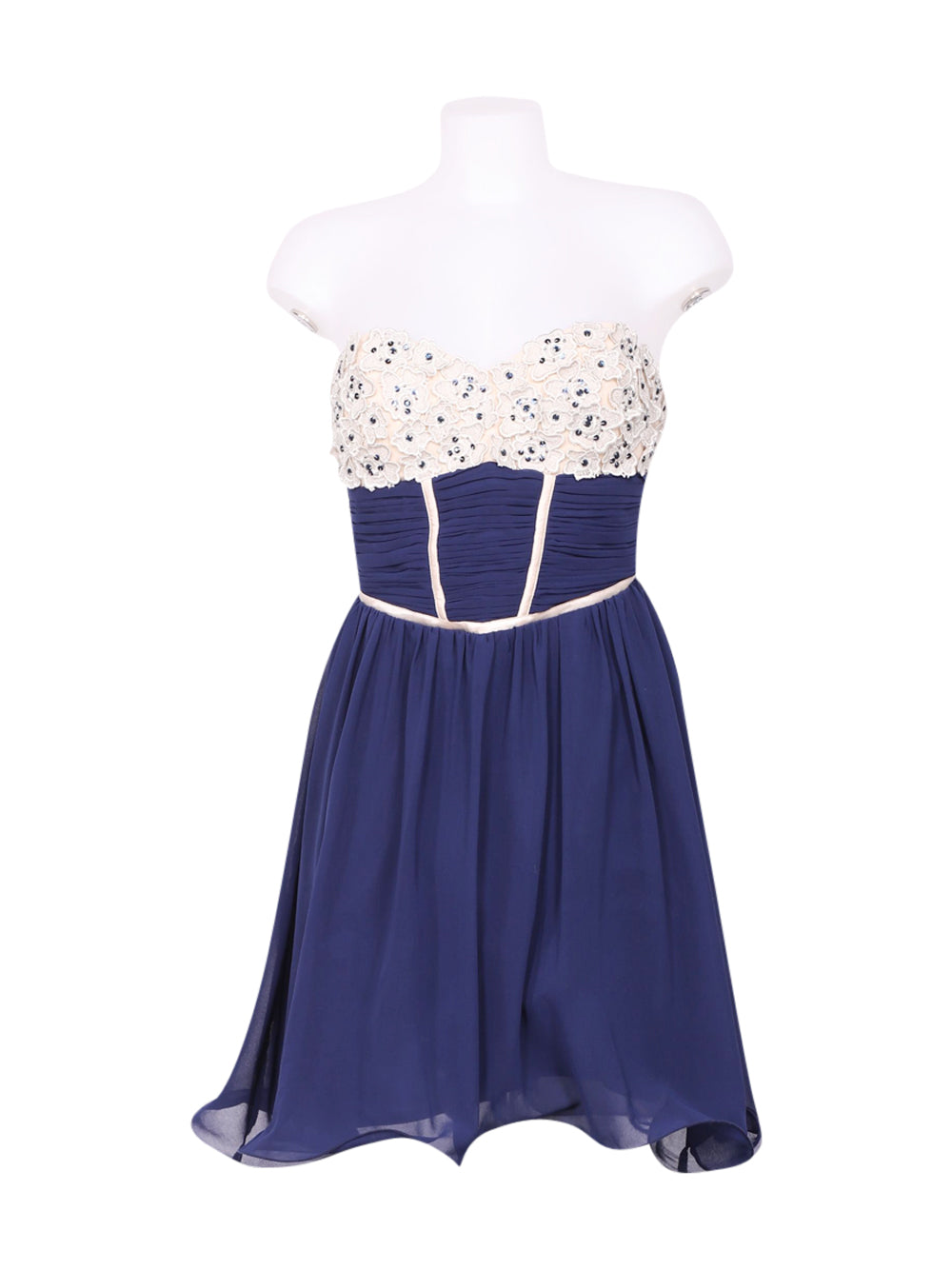 Front photo of Preloved little mistress Blue Woman's dress - size 10/M