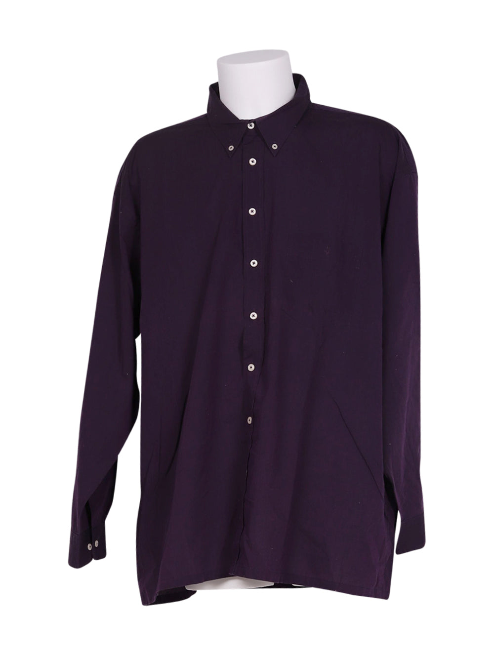 Front photo of Preloved b.p.c Violet Man's shirt - size 40/L