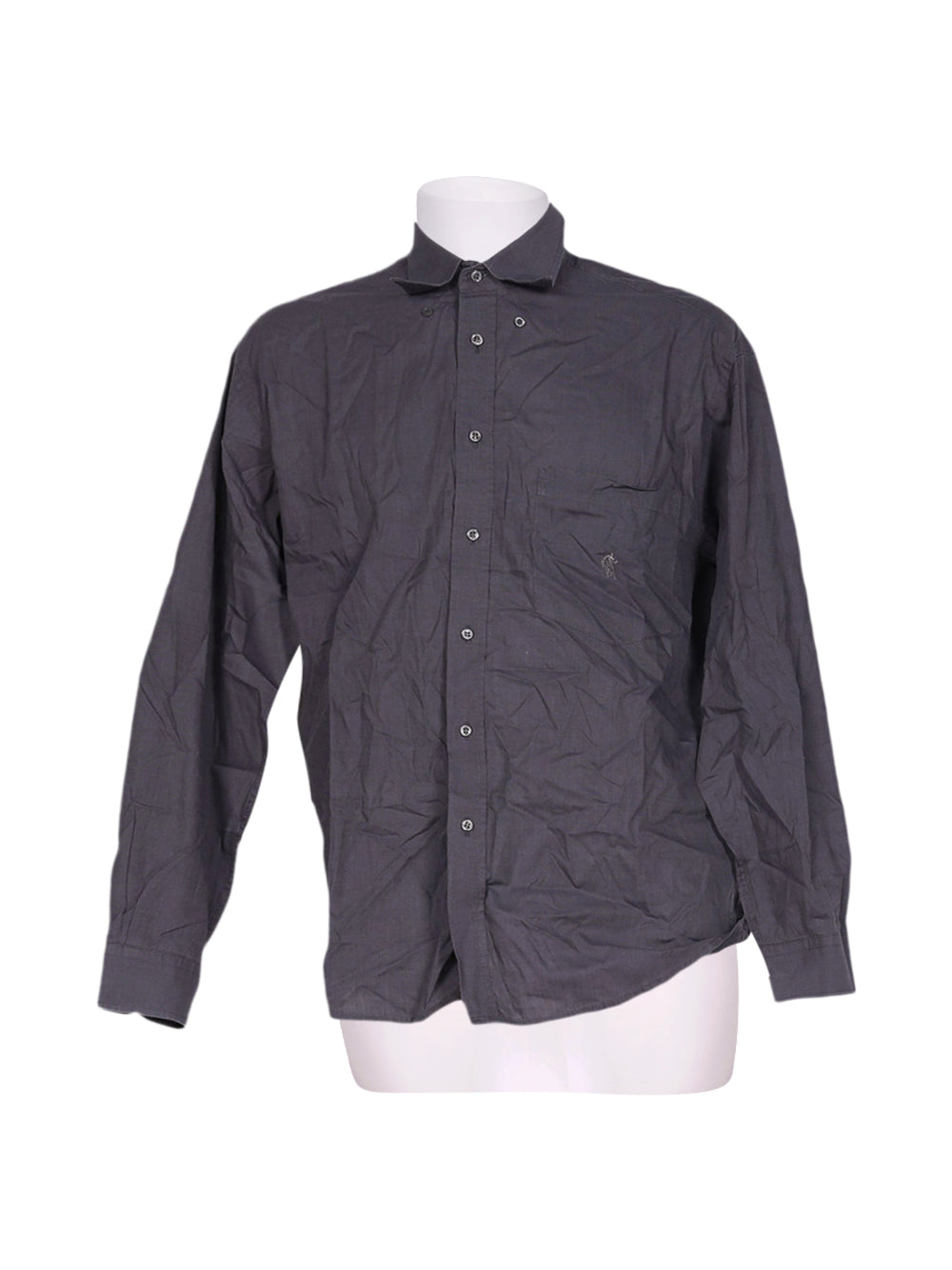 Front photo of Preloved Rodrigo Grey Man's shirt - size 38/M