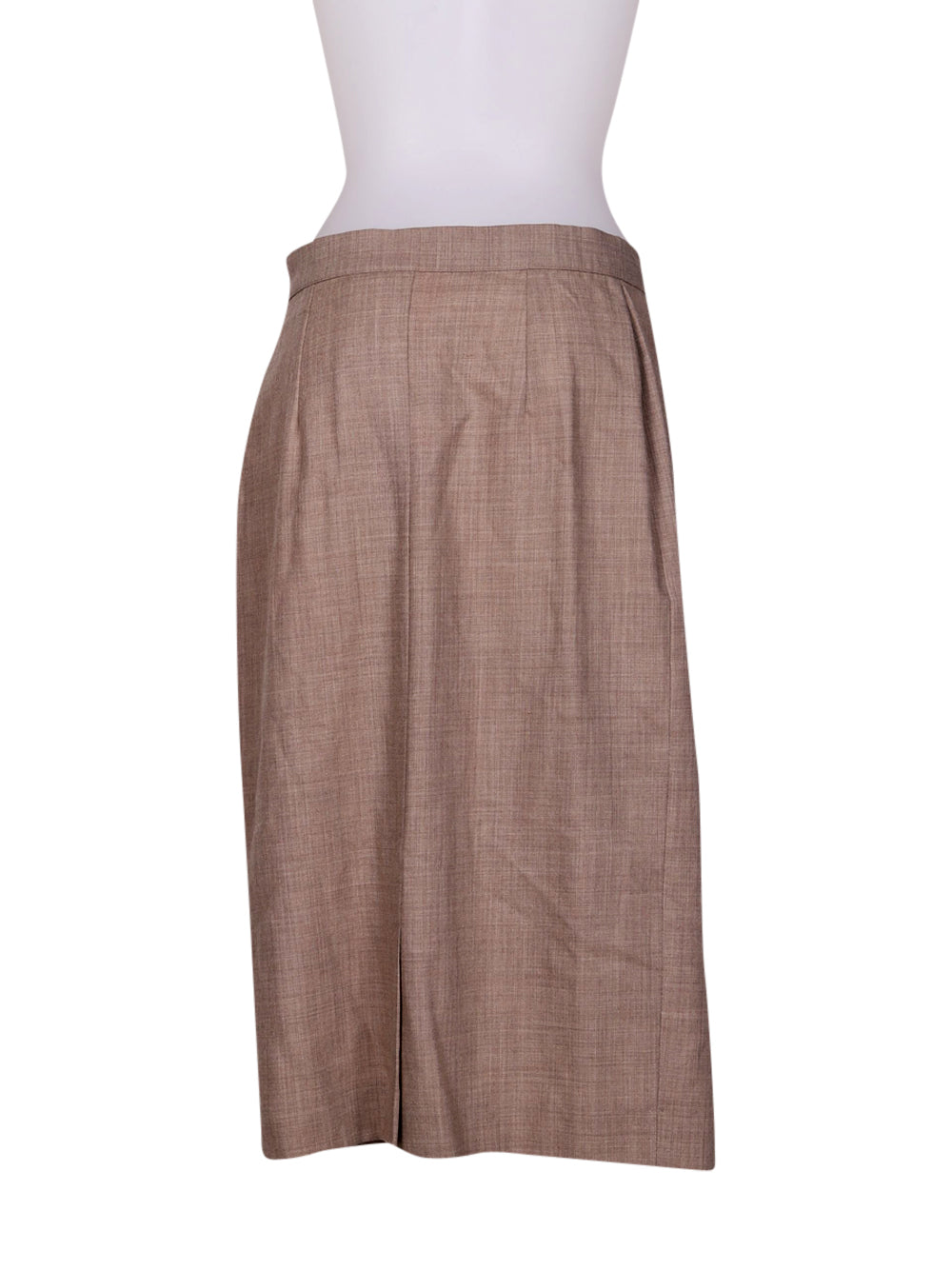 Back photo of Preloved scapa of scotland Beige Woman's skirt - size 8/S