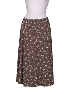 Front photo of Preloved Daxon Grey Woman's skirt - size 18/XXXL