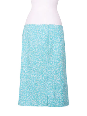 Back photo of Preloved Esologue Light-blue Woman's skirt - size 14/XL