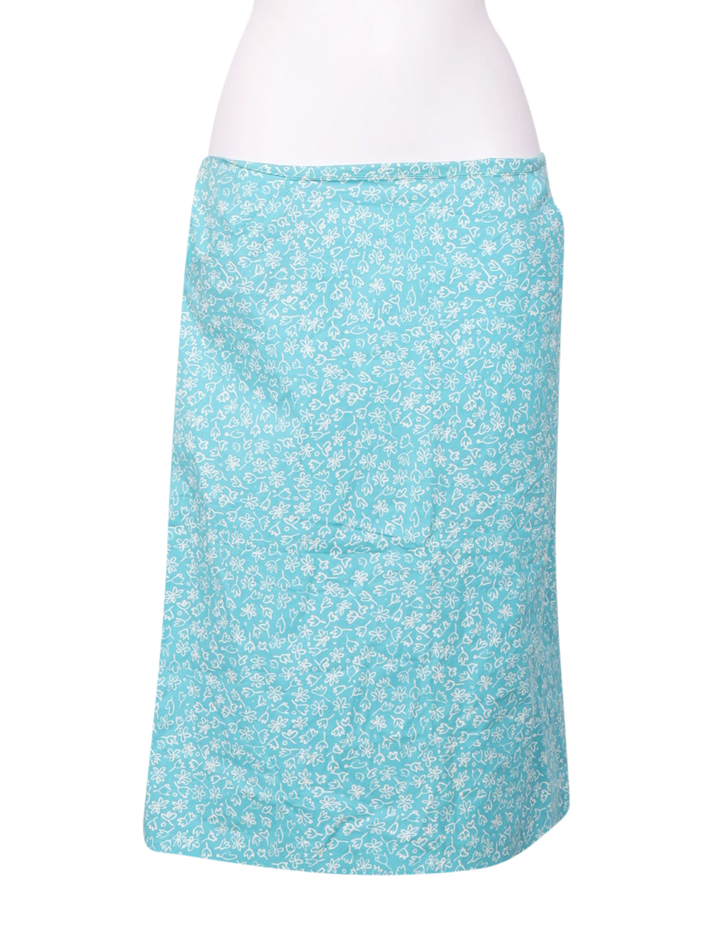 Front photo of Preloved Esologue Light-blue Woman's skirt - size 14/XL