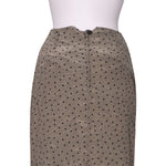 Back photo of Preloved blacky dress Beige Woman's skirt - size 8/S