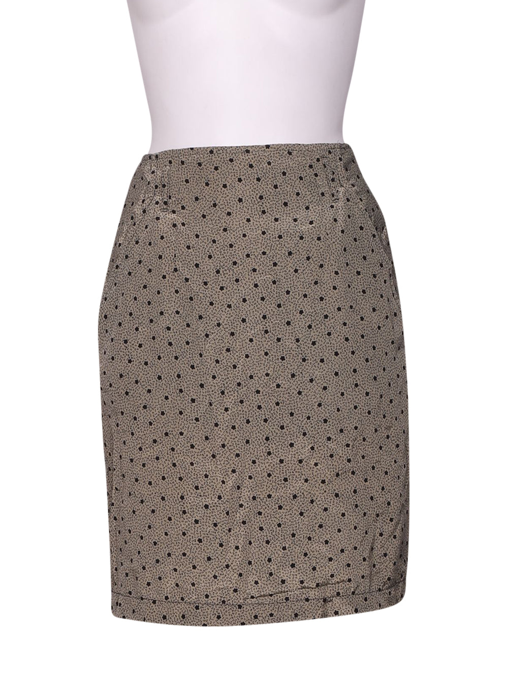 Front photo of Preloved blacky dress Beige Woman's skirt - size 8/S