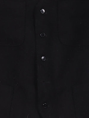 Detail photo of Preloved Sartoria dei Dogi  Black Man's waistcoat - size 40/L