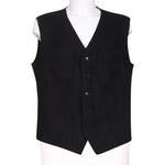 Front photo of Preloved Sartoria dei Dogi  Black Man's waistcoat - size 40/L