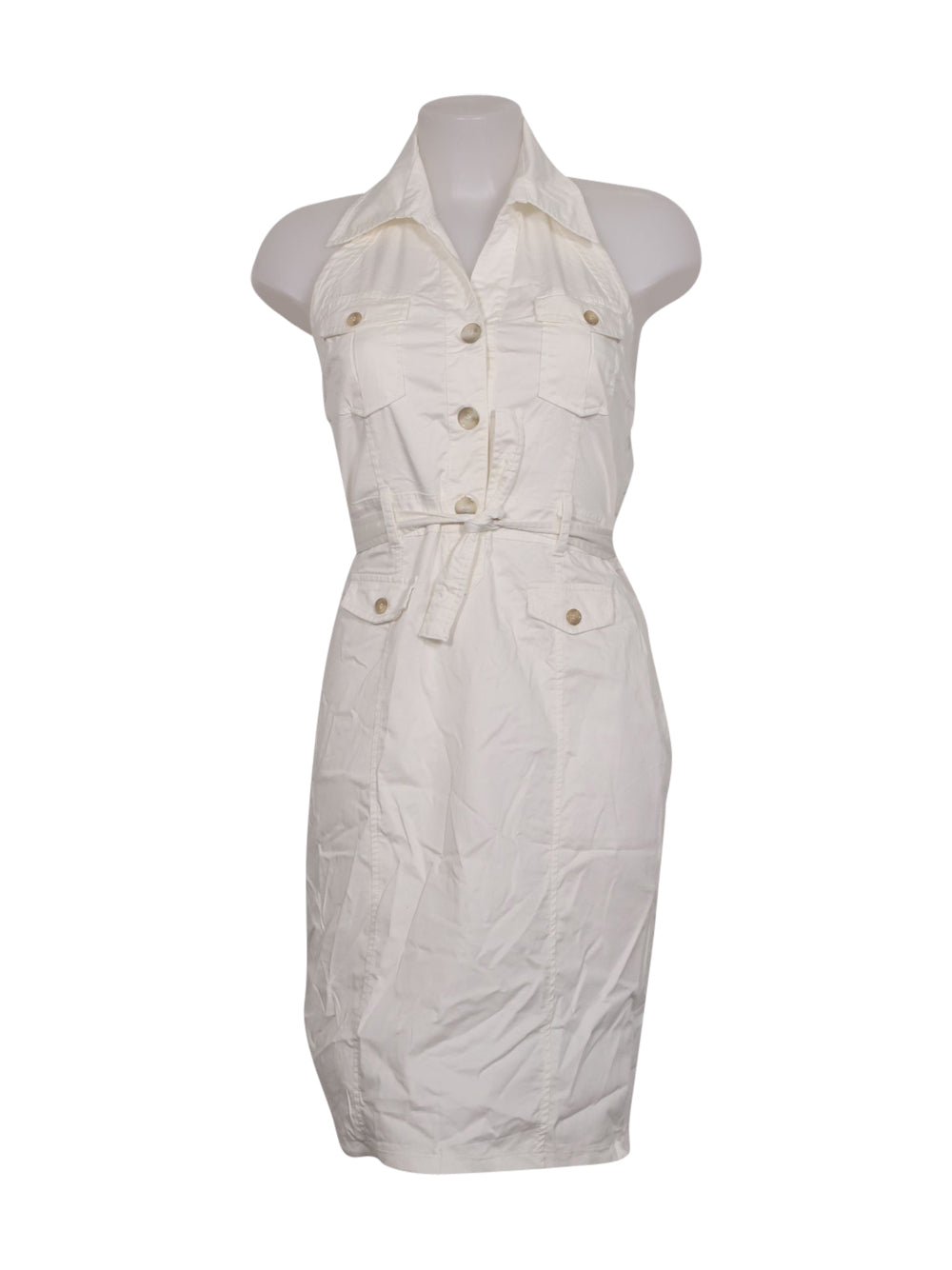 Front photo of Preloved NOSHUA White Woman's dress - size 14/XL