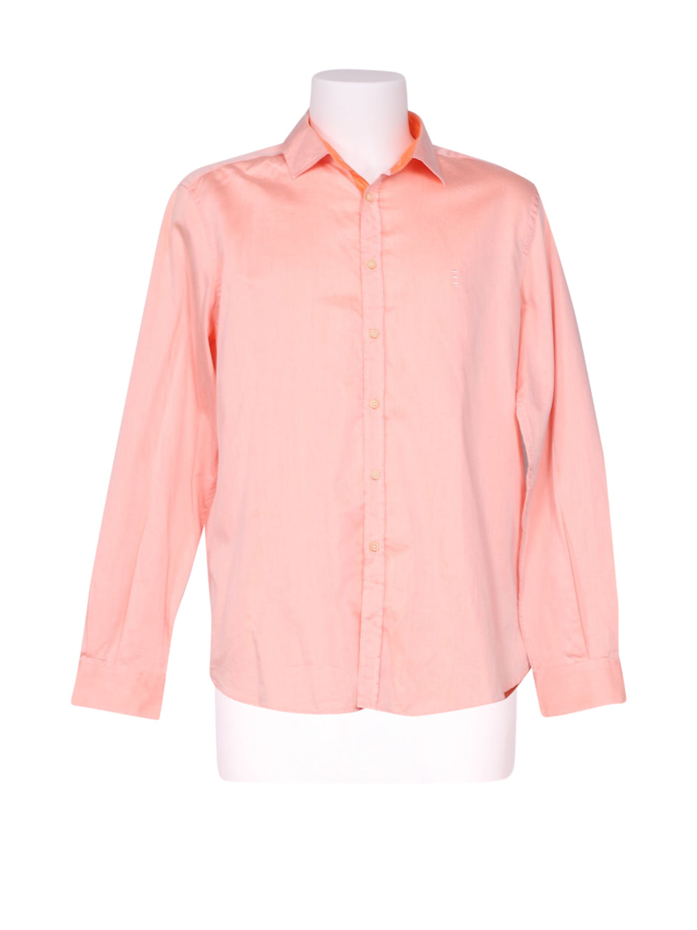 Front photo of Preloved Florentino Pink Man's shirt - size 42/XL