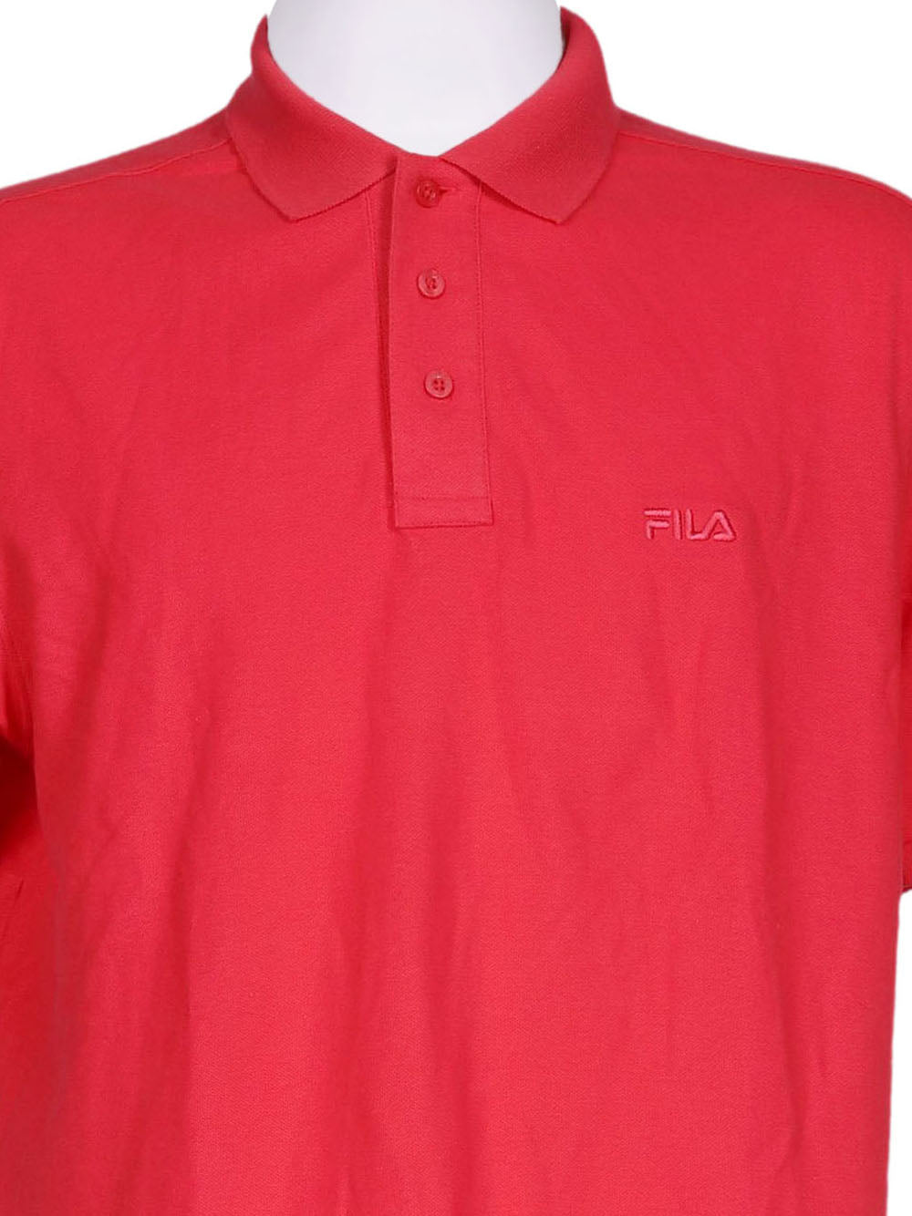 Detail photo of Preloved Fila Pink Man's polo - size 40/L