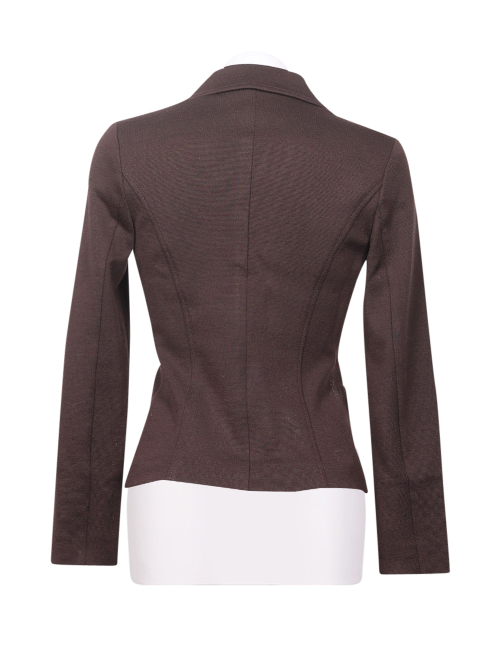 Back photo of Preloved I blues Brown Woman's blazer - size 10/M