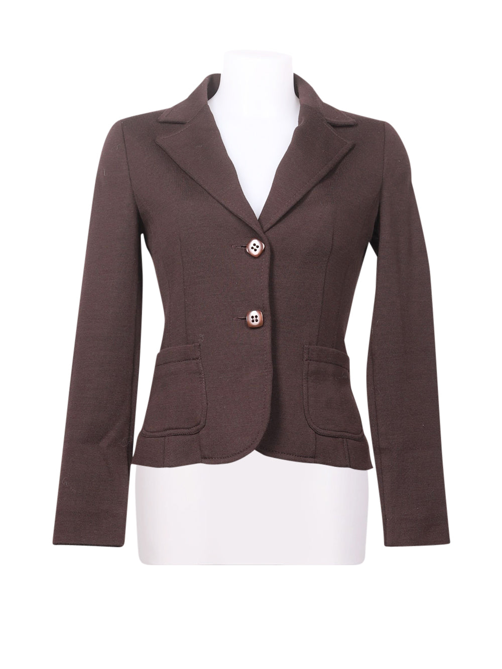 Front photo of Preloved I blues Brown Woman's blazer - size 10/M