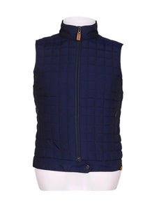 Front photo of Preloved Ciesse Blue Man's sleeveless winter coat - size 32/XXS