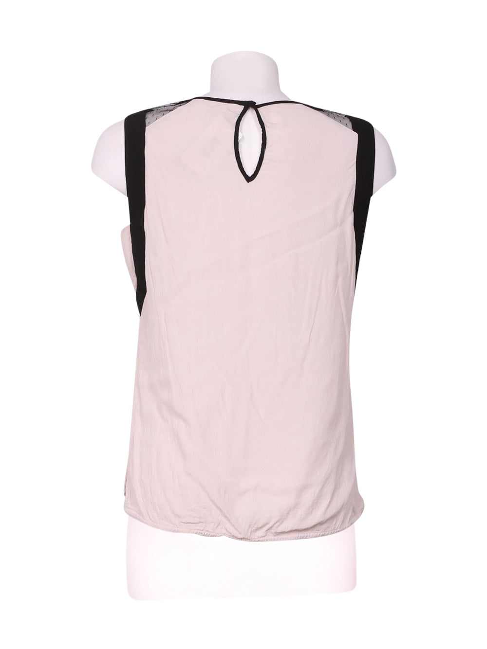Back photo of Preloved Naf Naf Pink Woman's sleeveless top - size 8/S