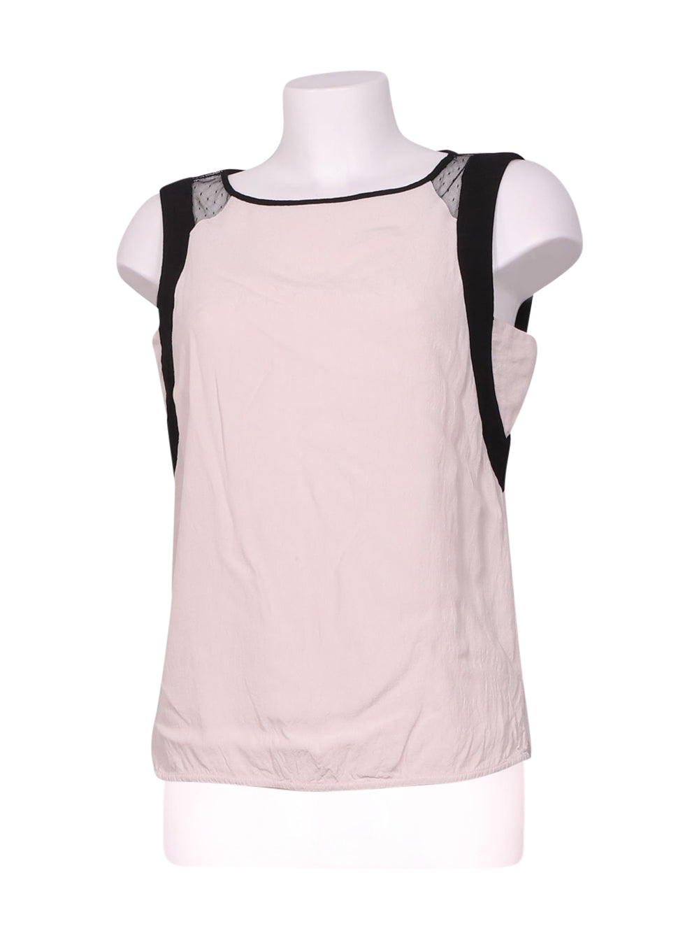 Front photo of Preloved Naf Naf Pink Woman's sleeveless top - size 8/S