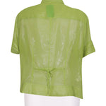 Back photo of Preloved Fiorella Rubino Green Woman's shirt - size 16/XXL