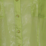Detail photo of Preloved Fiorella Rubino Green Woman's shirt - size 16/XXL