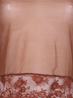 Detail photo of Preloved Intimissimi Brown Woman's long sleeved shirt - size 8/S