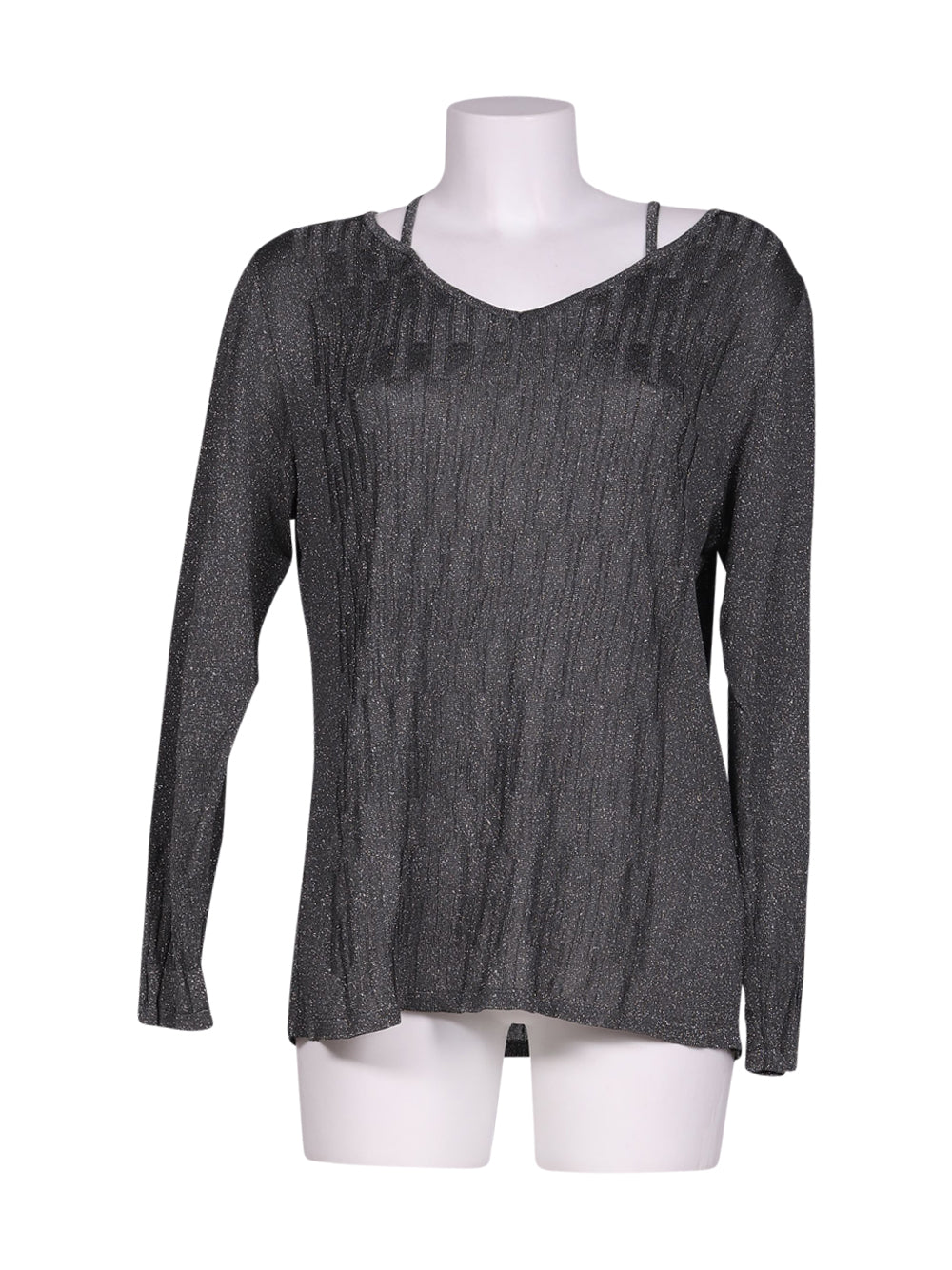 Front photo of Preloved giam Grey Woman's sweater - size 10/M