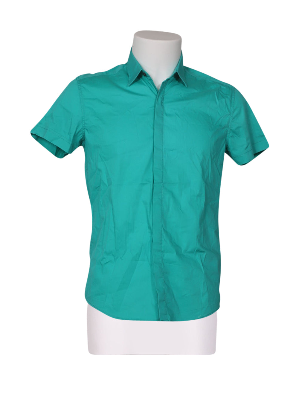 Front photo of Preloved Antony Morato Light-blue Woman's shirt - size 6/XS