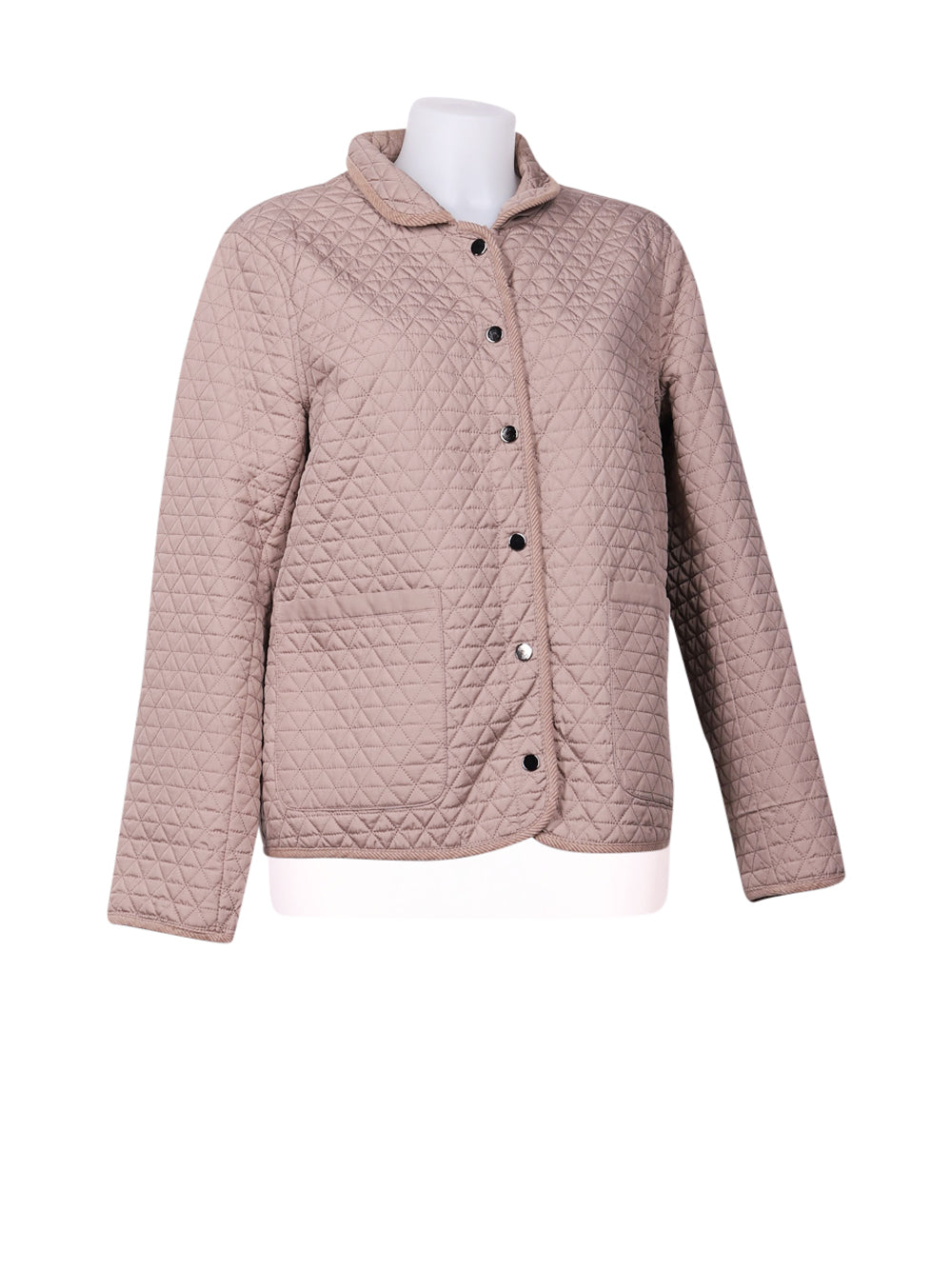 Front photo of Preloved lwie Beige Woman's jacket - size 16/XXL