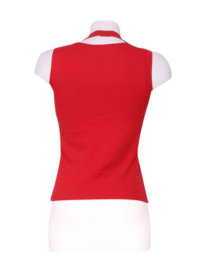 Back photo of Preloved Liu Jo Red Woman's sleeveless top - size 10/M