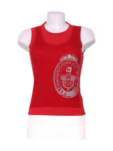 Front photo of Preloved Liu Jo Red Woman's sleeveless top - size 10/M