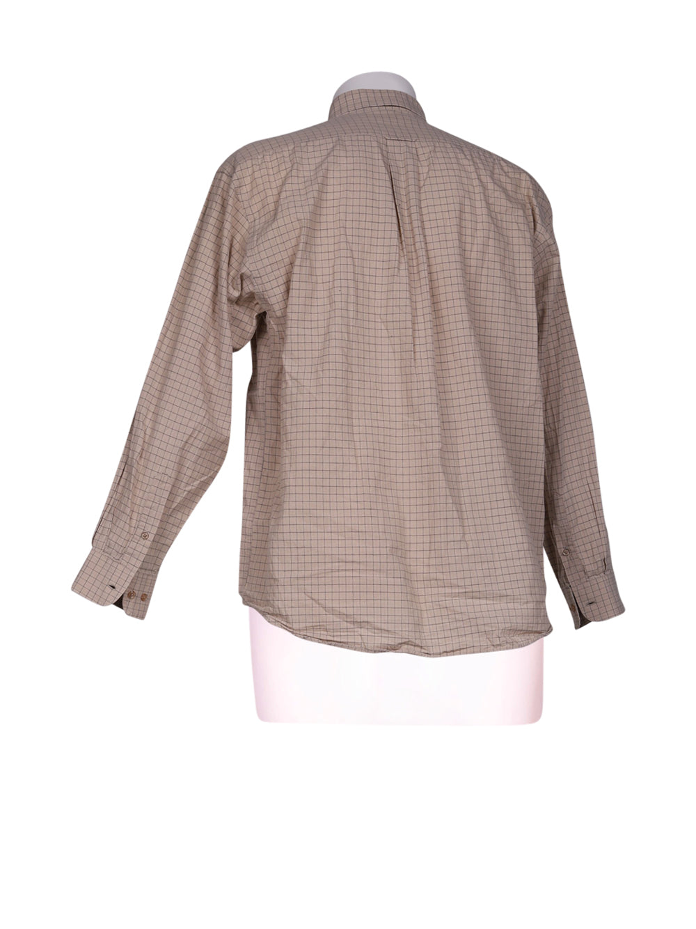 Back photo of Preloved Danny Beige Man's shirt - size 40/L