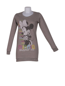 Front photo of Preloved Disney Grey Woman's sweater - size 10/M