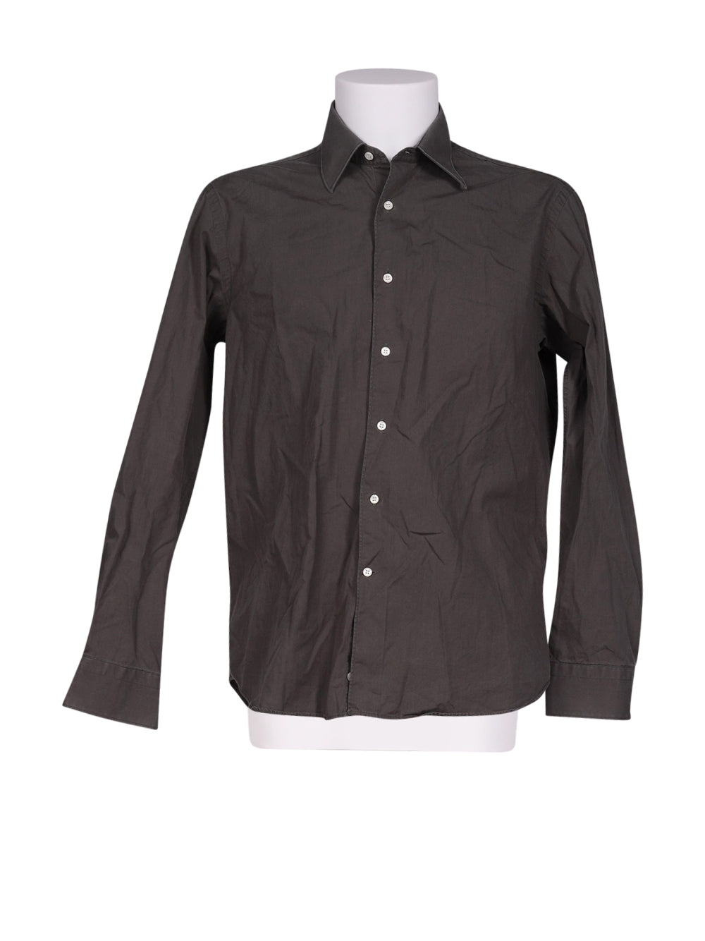 Front photo of Preloved giovanni taccaliti Grey Man's shirt - size 34/XS